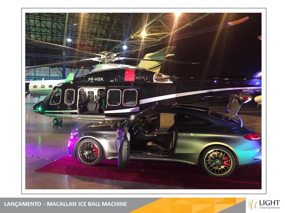 Maccalan Ice Ball Machine - Aeroporto de Congonhas